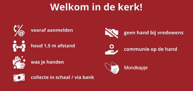 Eucharistieviering, Doordeweekse viering, Veendam @ RK kerk Maria ten Hemelopneming Veendam | Veendam | Groningen | Nederland
